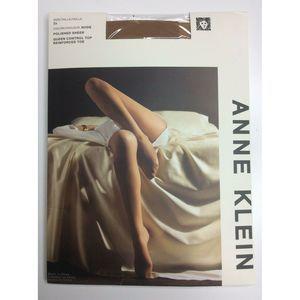 Anne Klein Nude Control Top Hose Stockings Plus